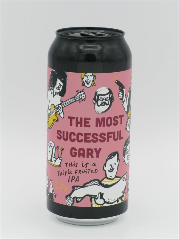 Pretty Decent The Most Succcessful Gary Triple Fruited IPA 5.7% 440ml Forest Gate Image 1