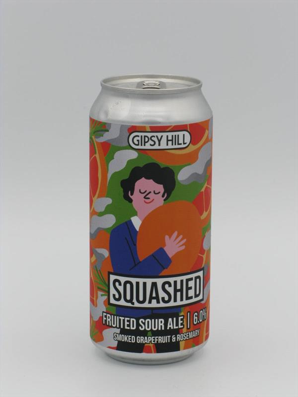 Gipsy Hill Squashed Smoked Grapefruit and Rosemary Sour 6% 440ml Crystal Palace Image 1