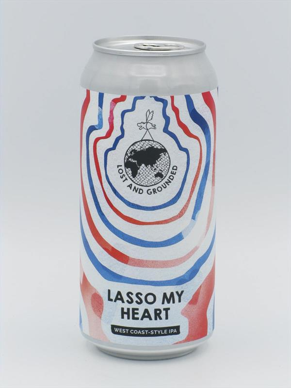 Lost and Grounded Lasso My Heart WC IPA 440ml Bristol Image 1