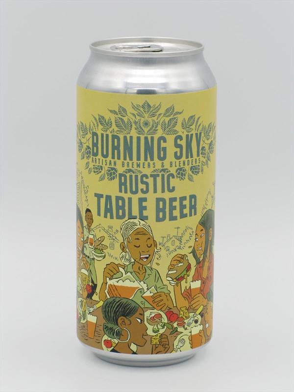 Burning Sky Rustic Table Beer 440ml Sussex Image 1