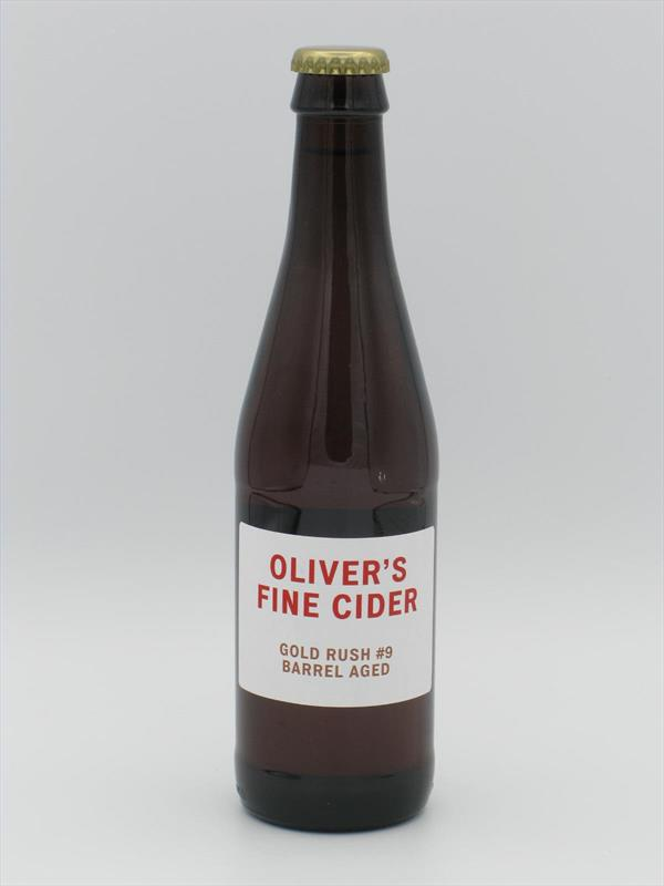 Olivers Gold Rush Barrel-Aged 6.8% 330ml Herefordshire Image 1