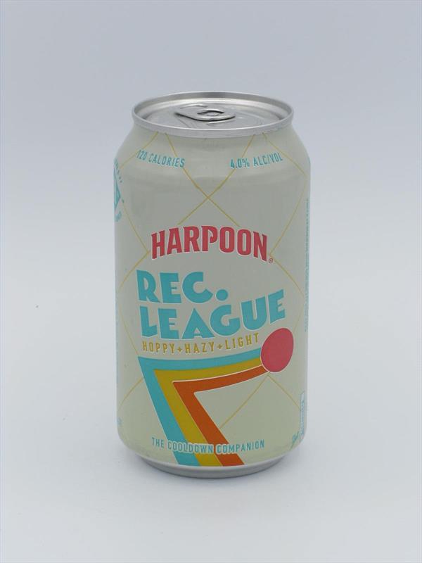 Harpoon Rec League Hazy Pale 4% Boston USA Image 1