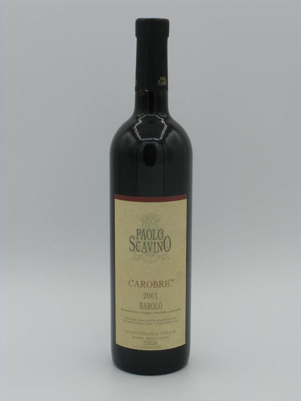 Paolo Scavino Carobric Barolo 2001 Piedmont Image 1