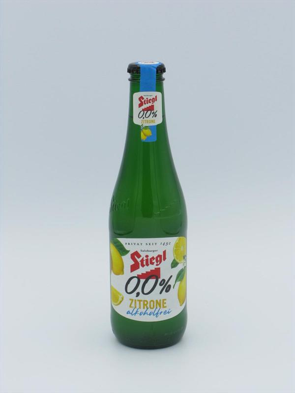 Stiegl Zitrone Lemon Radler 0.0% Austria 330ml Image 1